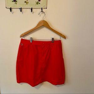 Lacoste 🐊cotton skirt